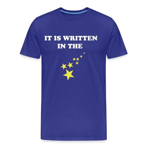 Written in the Stars - Men's Premium T-Shirt