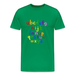 The Alphabet - Men's Premium T-Shirt