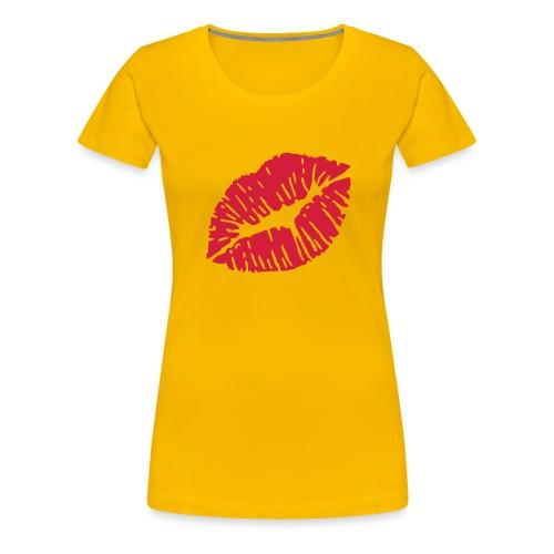 GiveMeAKiss - Frauen Premium T-Shirt