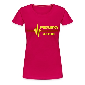 Frequency 1. (Fan-Shirt) - Frauen Premium T-Shirt