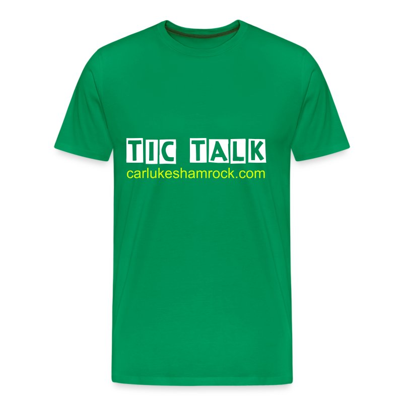 tictalk - tshirt green - Men's Premium T-Shirt