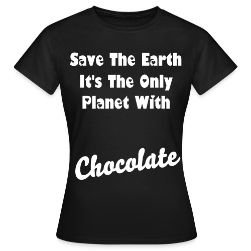 Save the earth - Vrouwen T-shirt