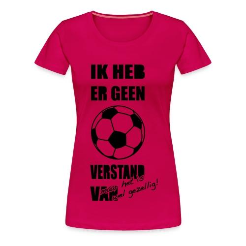 Dames voetbalshirt - Vrouwen Premium T-shirt