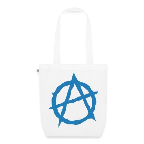 Øko, anarki, glimmer-tryk - Øko-stoftaske