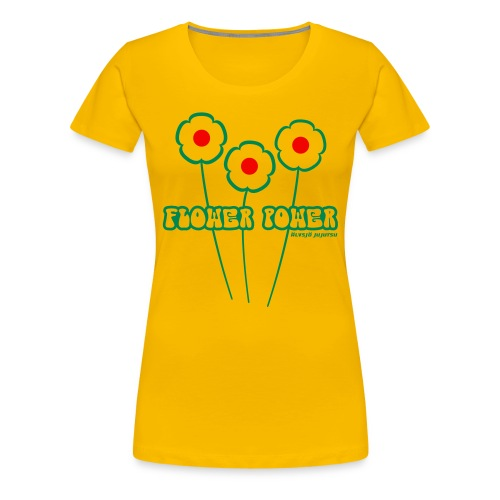 Flower Power - Premium-T-shirt dam