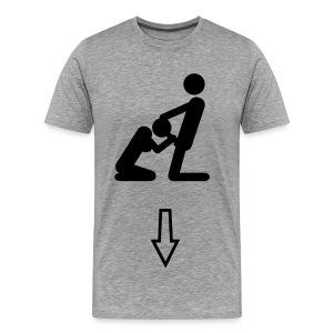 Suck me - Mannen Premium T-shirt