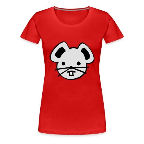 Dames T-shirt Muis - Vrouwen Premium T-shirt