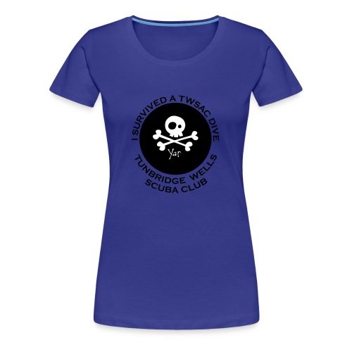 Women's classic Tee - front I survived.. - Women's Premium T-Shirt
