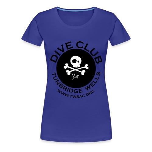 Women's classic Tee - front club print - Women's Premium T-Shirt