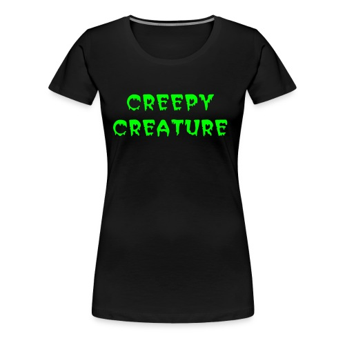 Creepy Creatures - Frauen Premium T-Shirt