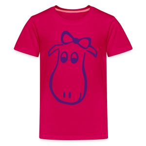 Elch Shirt *Hugoline* - Teenager Premium T-Shirt
