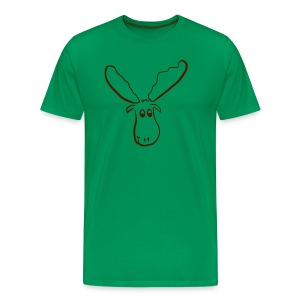 Elch Shirt *Hugo* - Männer Premium T-Shirt