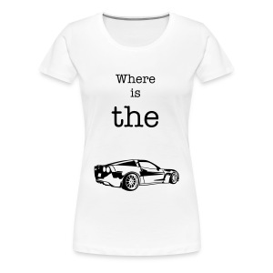 Girlie Shirt Car - Frauen Premium T-Shirt