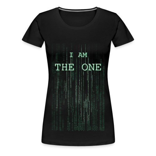 I am the one - Women's Premium T-Shirt