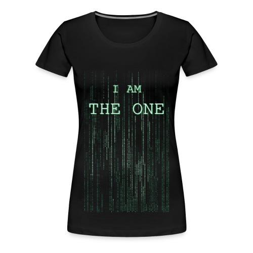 I am the one - Women's Premium T-Shirt