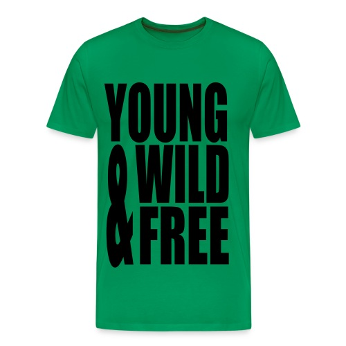 Young , Wild & Free - T-shirt Premium Homme