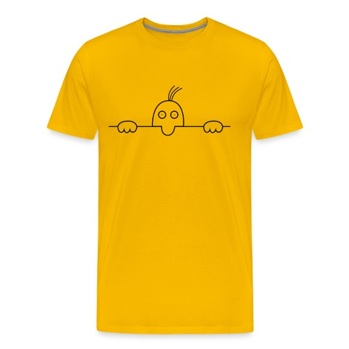 Derrière la ligne - T-shirt Premium Homme