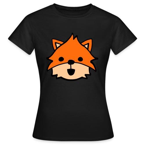 Dames T-shirt Vos - Vrouwen T-shirt