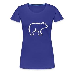 Eisbär Shirt - Frauen Premium T-Shirt