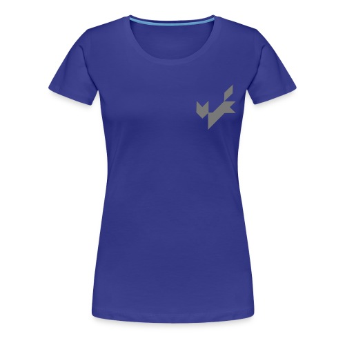 tangram katze fuchs - Women's Premium T-Shirt