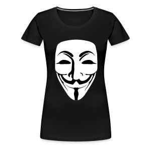 Anonymous - Guy Fawkes - Women's Premium T-Shirt