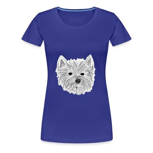 Westie Shirt - Frauen Premium T-Shirt