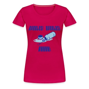 BUBBLES!!! - Women's Premium T-Shirt
