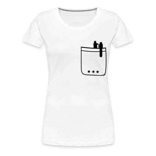 pocket - Women's Premium T-Shirt