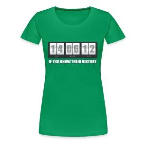 Their History - Women's Premium T-Shirt