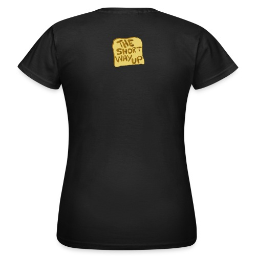 Frauen Klassik-Shirt, beidseitig Monster + Logo - Frauen T-Shirt