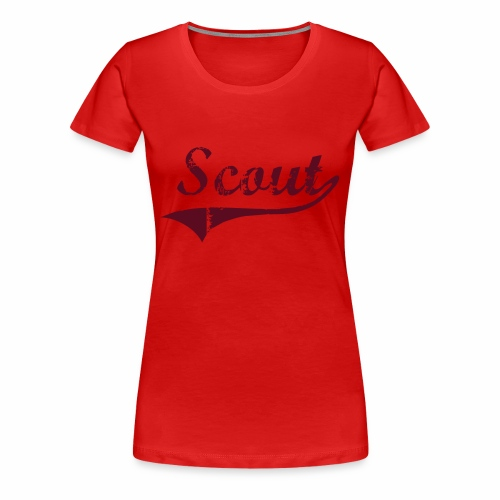Scout - T-shirt Premium Femme
