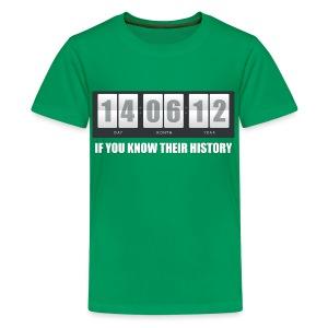 Their History - Teenage Premium T-Shirt