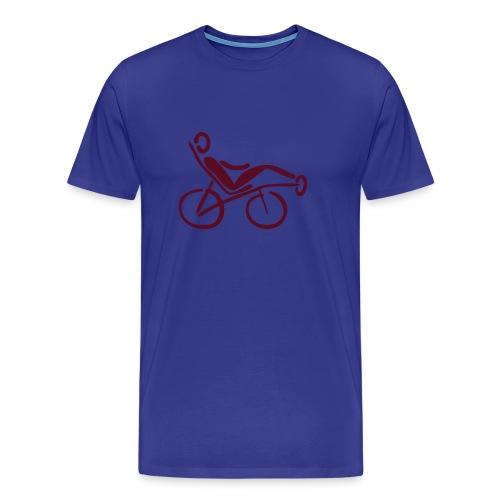 Liegerad Shirt - Männer Premium T-Shirt
