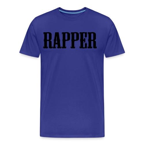 Shirt Rapper Blauw - Mannen Premium T-shirt