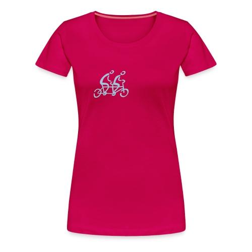 Tandem Shirt - Frauen Premium T-Shirt