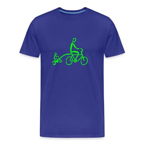 Tandemstange Shirt - Männer Premium T-Shirt