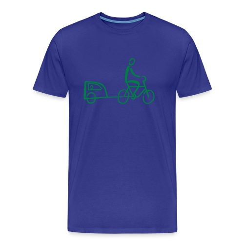 Fahrradhänger Shirt - Männer Premium T-Shirt