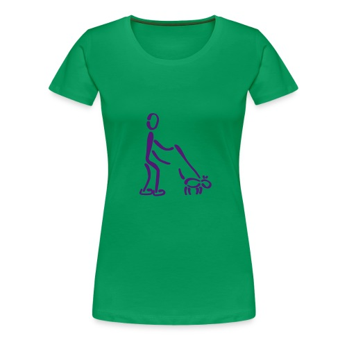 Gassi Shirt - Frauen Premium T-Shirt