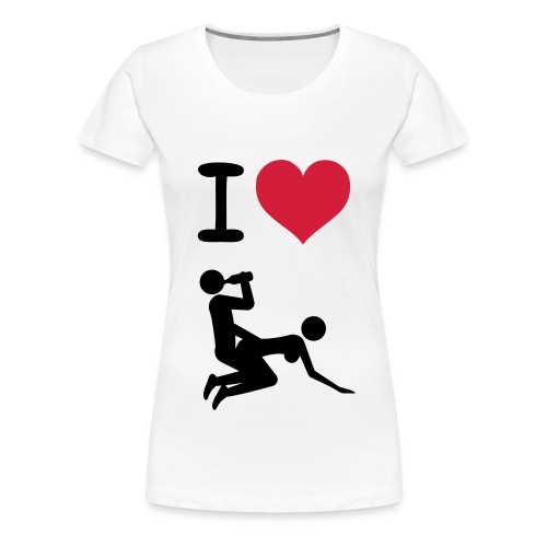 I love... - Women's Premium T-Shirt