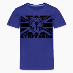 staffords smileflag3 Kids' Shirts
