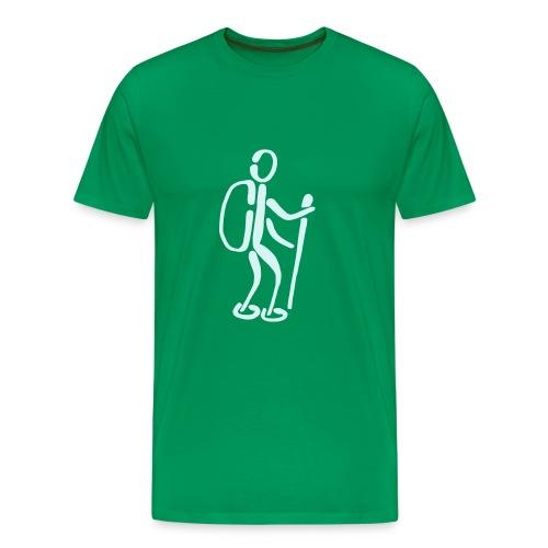 Wanderer Shirt - Männer Premium T-Shirt