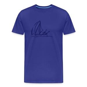 Segeln Shirt - Männer Premium T-Shirt