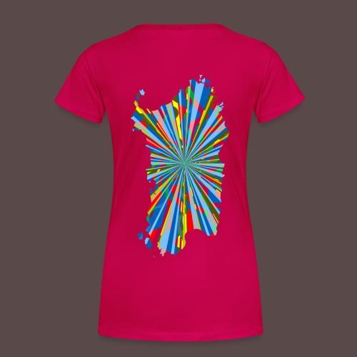 Sardegna, Vernice e Colori - Maglietta Premium da donna
