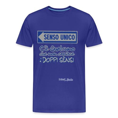 Interlude Shirts - Senso Unico - Maglietta Premium da uomo