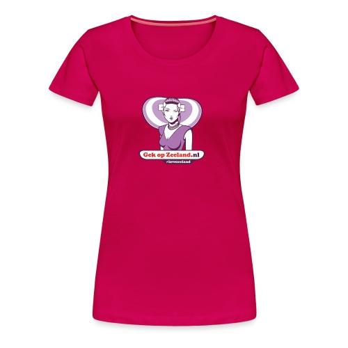 Speciael vo ferme wuuven. #lovezeeland - Vrouwen Premium T-shirt