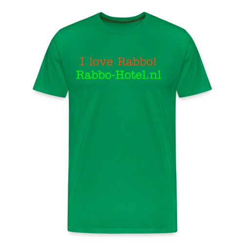 Rabbo fan shirt - Mannen Premium T-shirt