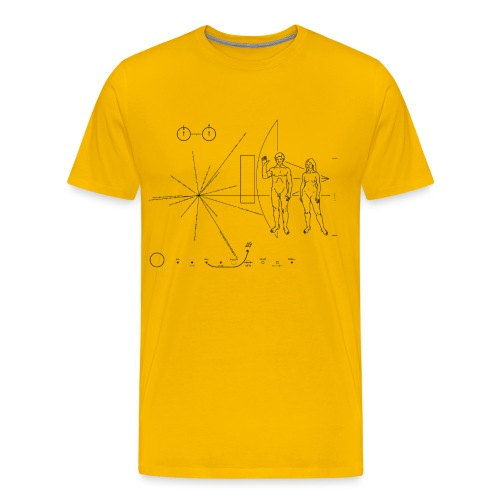 Placa Voyager - Men's Premium T-Shirt