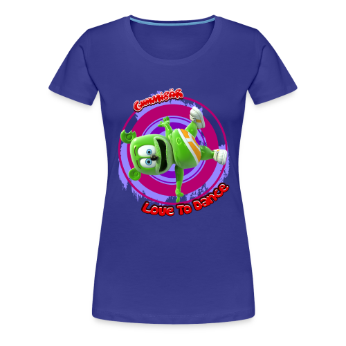 Gummibär Love To Dance Ladies Girlie T-Shirt - Women's Premium T-Shirt