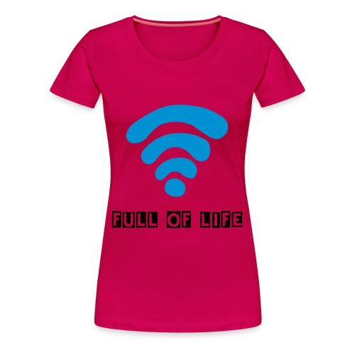 wifi - Women's Premium T-Shirt