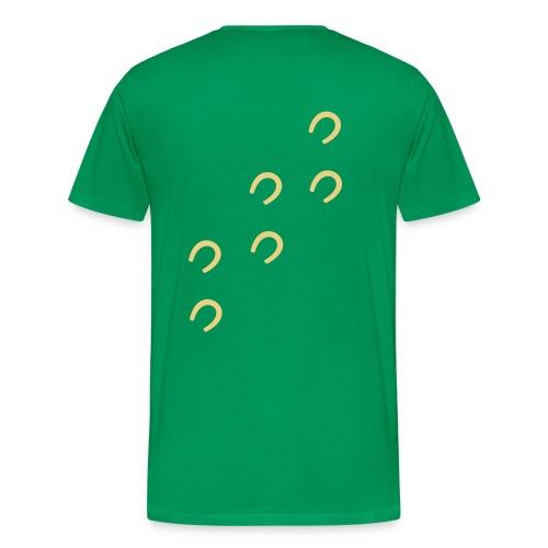 I love horses - Männer Premium T-Shirt